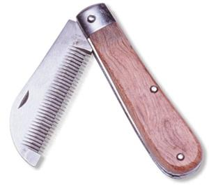 Folding Stripping Comb
