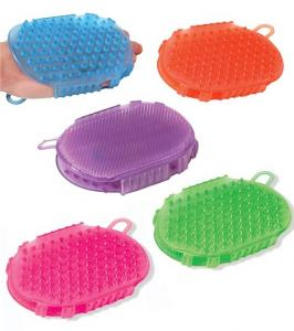Jelly Scrub Mitt
