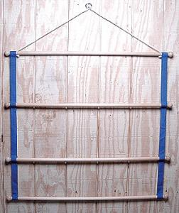 Wooden Blanket Handy Rack