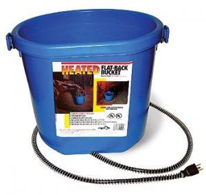 Heated Flatback Water Bucket
