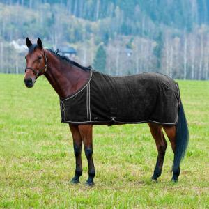 Finn-Tack Fleece Blanket with Mesh Lining