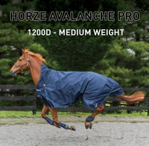1200D Horze Supreme Medium Weight Turnout