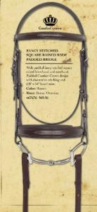 Bridle - Fancy Raised Padded