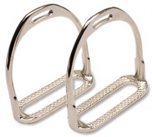 Nickel-Plated Hunt Stirrup
