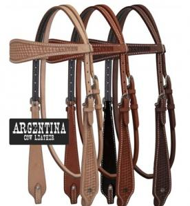 Argentina Cow Leather Headstall