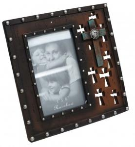 Die Cut Cross Picture Frame