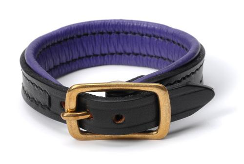 Horse Designs 5 Personalized Nameplate Leather Bracelet