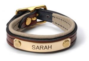 Kentucky Leather Padded Bracelet
