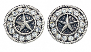 Starlight Concho Post Earrings