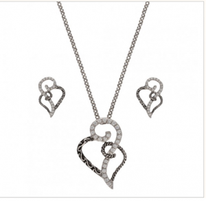 Woven Hearts Jewelry Set