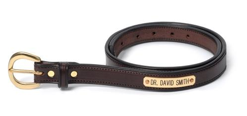 Childs Stitched Leather Belt