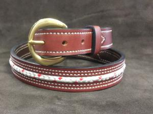 Please note: Custom belts are made to order, please allow 7-10 business days for processing time.