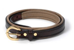 Padded Leather Belt-3/4""