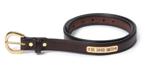 Please note: All belts are made to order, please allow 5-7 business days for processing time.