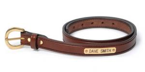 Please note: Custom belts are made to order, please allow 5-7 business days for processing time.