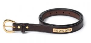 Stitched Leather Belt