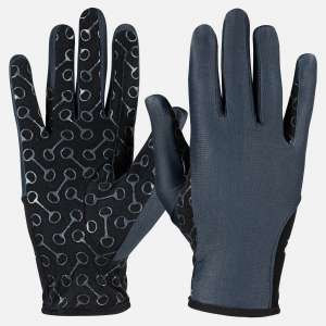 Horze Riding Glove W/Silicone Palm Print