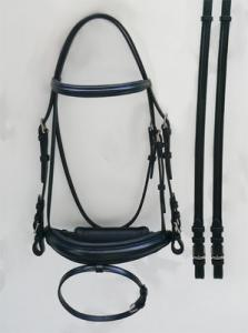 Bridle - Plain Raised w/ Reins