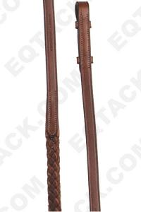 Flat Braided Reins with Buckle
