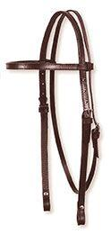 "Circle Y 5/8"" Plain Browband Headstall"