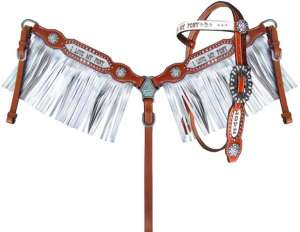 Headstall/Breast Collar- Pony Set