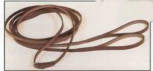 English Style Leather Draw Reins with Loops